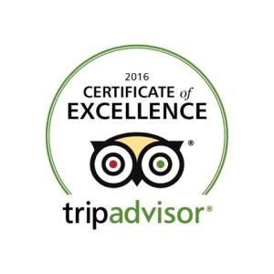 2016 Finest Blend Trip Advisor Award