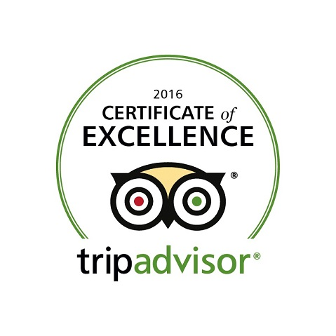 2016 Finest Blend Trip Advisor Award